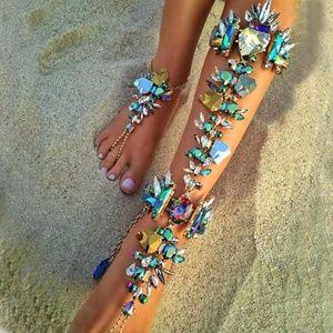 Jewelry - Best lady Boho Hot Sexy Leg Chain Ankle Bracelets